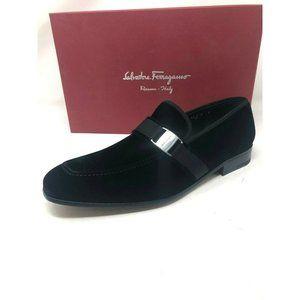 New Salvatore Ferragamo Black Shoes Danny